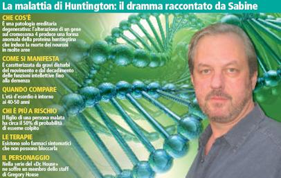 La malattia di Huntington: il dramma raccontato da Sabine
